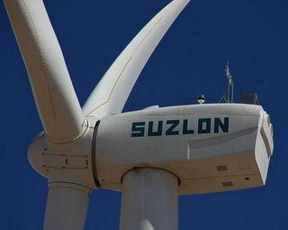 Suzlon wind turbine