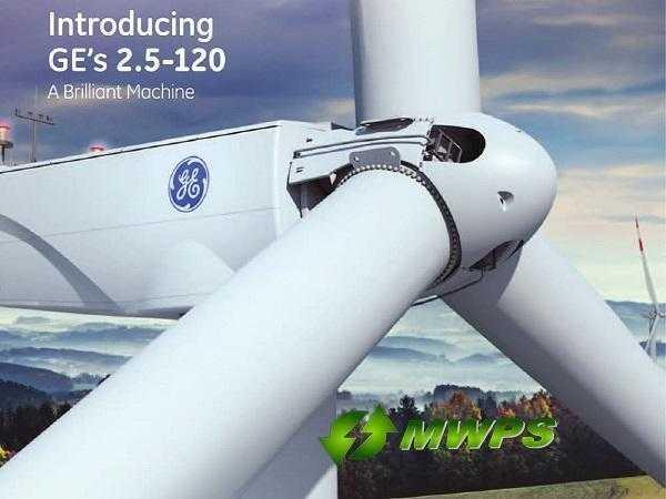 GE 2.5mW Wind Turbine. sml-1