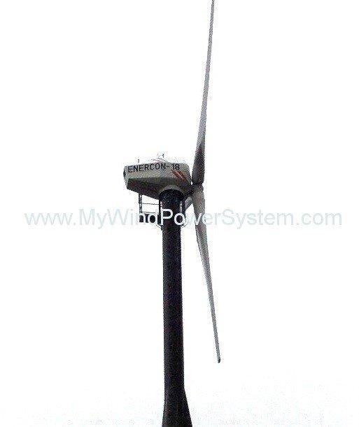 ENERCON E18 - 80kW Windkraftanlage  zu verkaufen