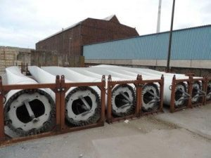 LM 19.1 Wind Turbine Blades for Bonus 600 Mk IV for Sale