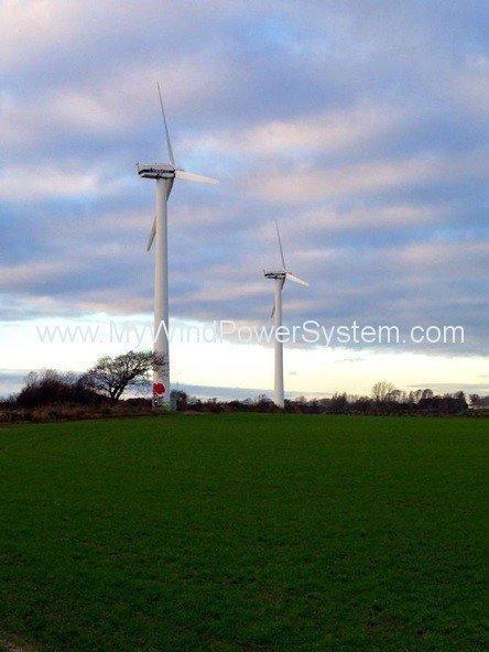 Vestas V27 Windturbinen Sweden