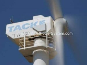 TACKE TW300 - 300kW Wind Turbines For Sale
