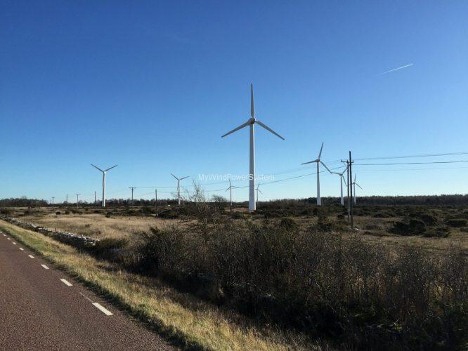 Vestas V29 wind farm