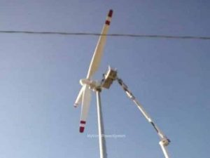 WINDKING FD18-50 Used 50kW - Direct Drive - Wind Turbine