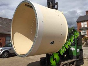 Tower Foundation Cans VESTAS V27-V29