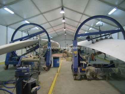VESTAS V27 and V29 Blades for Sale New | MWPS World Wind Turbines