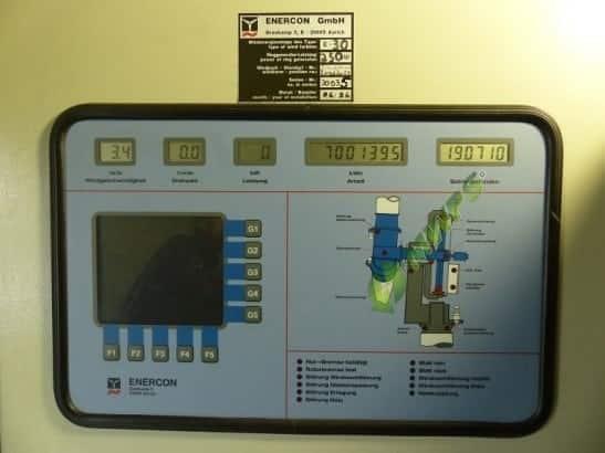 Enercon E-30 - 250 kW-Control-Panel